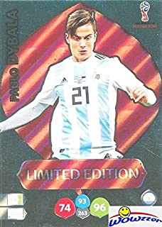 Paulo Dybala Argentina 2018 Panini Adrenalyn XL WORLD CUP RUSSIA EXCLUSIVE LIMITED EDITION Card! Awesome Special Great Loo...
