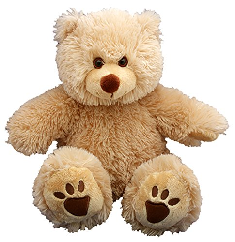 Make Your Own Stuffed Animal 16' 'Furry Brown Bear - No Sew - Kit with Cute Backpack!