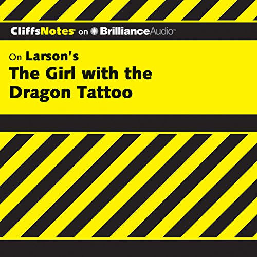 The Girl with the Dragon Tattoo: CliffsNotes audiobook cover art