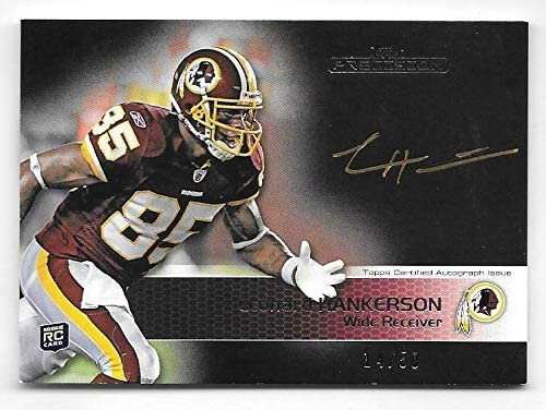 2011 Topps Precision #114 Leonard Hankerson Gold On Fresno Mall Ink Card RC favorite