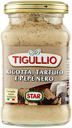12x Star Tigullio GranPesto Ricotta Tartufo Pepe Nero Trüffel und schwarzer Pfeffer 190g Sauce Soße