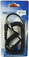 Cable NAUZER NPE-100K con conector Kenwood de dos pines y conector tipo Peltor para walkie talkie Kenwood Compatible con auriculares Peltor Flex, Peltor OraTac Peltor FMT120 y adaptador WS5