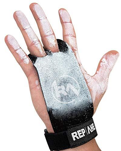 REP AHEAD®️ Grips – Maniques Extra Robustes – Gants Comfortable pour Crossfit | Gym | Musculation | Gymnastique | Sport (pour Homme & Femme)