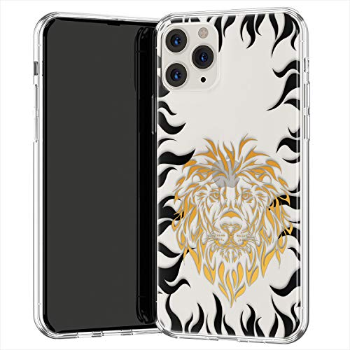 Lex Altern TPU Funda para Apple iPhone 12 Pro SE 11 XS MAX XR 8 7 Plus 6 + Chico Roja Dragon Art King Carcasa Cubierta Transparente Movie Delgado Man Roja Mark Ligera Kingdom Queens uk1311