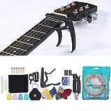 Cuerda de guitarra, hecha de acero y cobre, kit de accesorios para guitarra con revestimiento antioxidante para guitarra