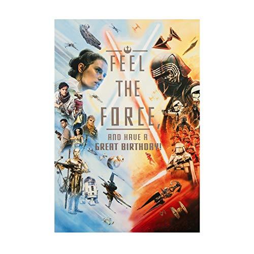 Algemene verjaardagskaart van Hallmark - Star Wars 'Heroes and Villains' Design