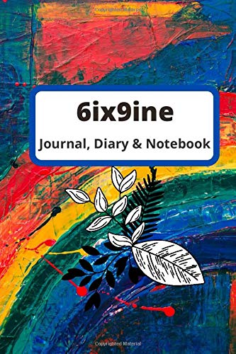 6ix9ine song notebook_Guiter Tabs Journal_Diary: Guiter Tabs for Professional students of music school and college