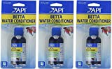 API (Pack of 3) Betta Water Conditioner, 1.7 Ounce Each