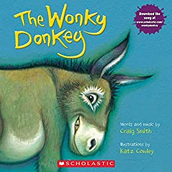 The Wonkey Donkey Plus a list of all time favorite children's books, includes a free file