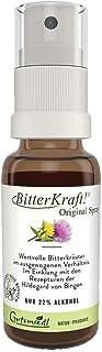 BITTERKRAFT Oryginalny w 5 rozmiarach – gorzkie substancje w sprayu firmy Bingen – idealny w podróży – zrównoważone zioła ...