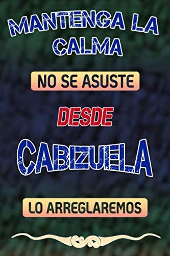 Pas de panique, nous allons le réparer depuis Cabizuela lo arreglaremos: Cuaderno | Diario | Diario | Página alineada