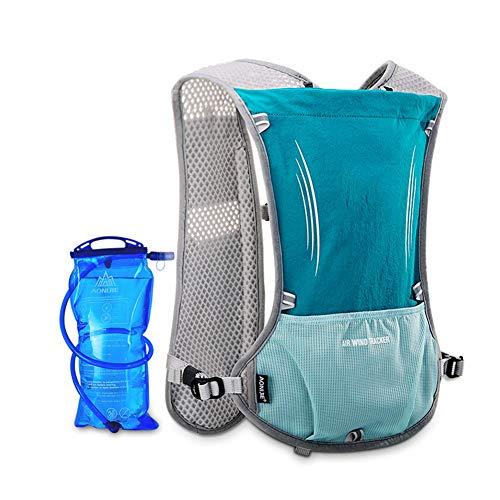 GU YONG TAO Outdoor-Wasserrucksack, mit 1,5 l Wasserblase, hohe Qualität, drucktolerant und auslaufsicher, mit Mehreren Taschen, komfortabel und atmungsaktiv, leicht haltbar