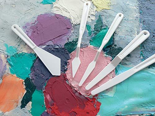 Couteaux A Peindre En Plastique - Pot De 40 [Jouet]