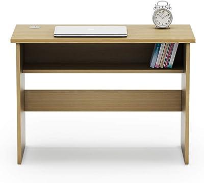 SOS Spacewood LiteOffice Versa Home and Office Table (Urban Teak)