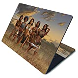 MightySkins Skin for Microsoft Surface Laptop 3 15' - African Queens | Protective, Durable, and Unique Vinyl Decal wrap Cover | Easy to Apply, Remove, and Change Styles | Made in The USA