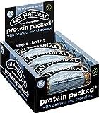 Eat Natural Barrita Proteica con Cacahuetes y Chocolate - 12 Barras