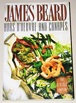 Paperback Hors d'Oeuvre and Canapes Book