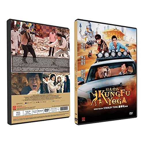 Kung Fu Yoga Chinese Movie DVD With English Subtitles