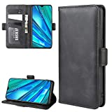 XunEda PU Leather Book Flip Case for Realme X2 Pro Magnetic