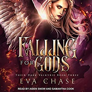 Falling for Gods: A Reverse Harem Urban Fantasy cover art