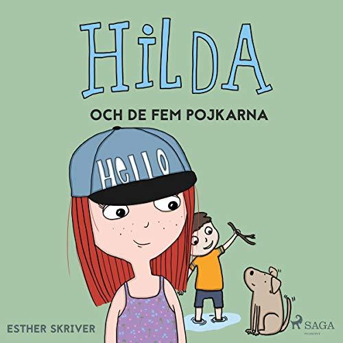 Hilda och de fem pojkarna audiobook cover art