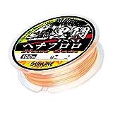 サンライン(SUNLINE) フロロカーボンライン 黒鯛イズム へちフロロ NextGen 100m 2号 クリア&オレンジ&イエローG