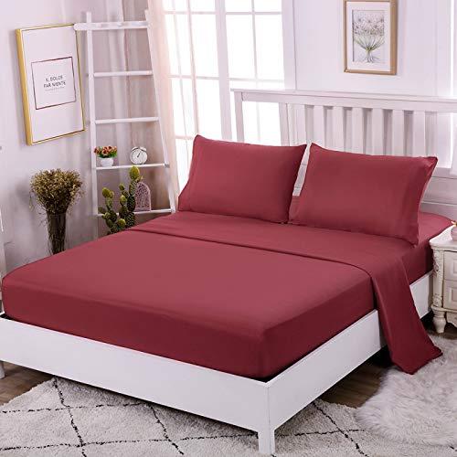 BOLO Se adapta a las sábanas, microfibra, cómodo y a prueba de polvo, 3 piezas