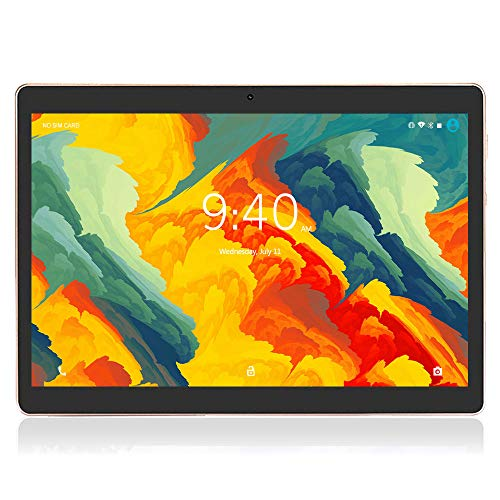 Tablet 10 Pollici 4G LTE WIFI BEISTA-Android 9.0 Tablets Full HD display,4GB RAM 64GB ROM,Doppia SIM,Quad-core,GPS,Bluetooth,OTG-Nero