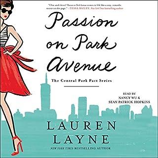 Passion on Park Avenue audiobook cover art