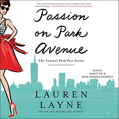 Passion on Park Avenue audiobook cover art
