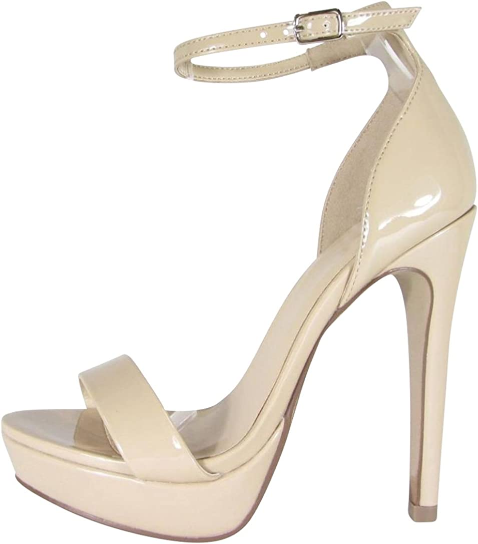 Cambridge Select Women's Open Spring new work one after another Toe Band Buckled Ankle Stra Single Overseas parallel import regular item