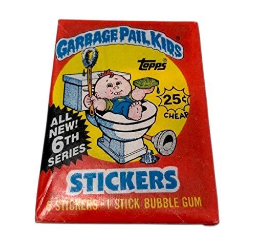 Garbage Pail Kids 1986 Topps Original 6th Series 6 OS6 Unopened Pack GPK