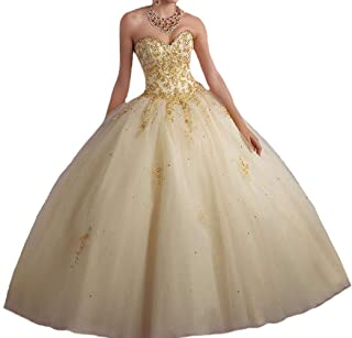 tulle quinceanera dress