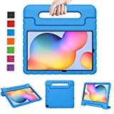 LTROP Samsung Galaxy Tab S6 Lite 10.4 Case (2020), Galaxy Tab S6 Lite Case 10.4, Shockproof Protective Handle Stand Case for Samsung Tab S6 Lite 2020 10.4'' Cover Case Model SM-P610 SM-P615- Blue