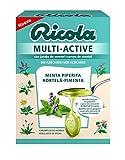 Ricola - caramelos multi-active, caja 51g, sabor menta piperita