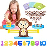 ATOPDREAM Toys for 3 4 5 6 7 8 Year Old Girls Boys, Monkey Balance Math Game Boys Girls Toys Age 3-8...