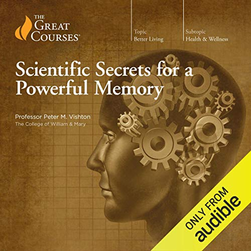 Scientific Secrets for a Powerful Memory audiobook cover art