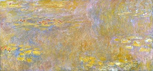 Das Museum Outlet–claude-oscar Monet–Wasserlilien–Poster Print Online kaufen (101,6x 127cm)