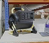 Best Garage Heaters - HomeZone 2KW Modern Electric PTC Fan Heater Adjustable Review
