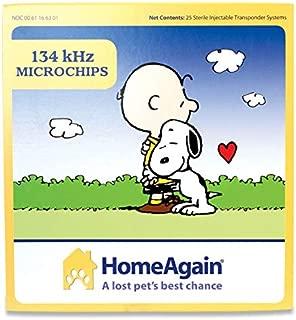 HomeAgain 134 kHz 15 digit Universal WorldChip Microchip 25pk
