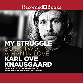A Man in Love audiobook cover art