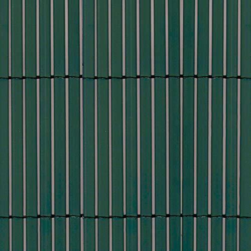 tenax Colorado, Canniccio Sintetico a Canne Intere da 7mm, 1,50x5m, Verde, Schermante Frangivista in PVC per Giardino, Balcone e Terrazza