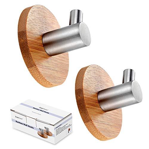 Ganchos de bambú, de la marca BasicForm