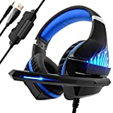 Beexcellent Casque Gaming pour PS4 PC Xbox One, Casque Gamer avec Micro Audio...