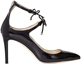 JIMMY CHOO Women's SAGE85PATBLACK Black Patent Leather Pumps