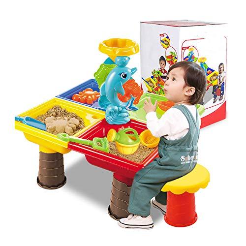 Zand Watertafel Spelen Zand Klei Grappige Plastic 1 Set Onderwijs Leermiddelen Strand Speelgoed Set Zee Graven Pit Buiten Voor Kinderen Water Zomer Tuin Emmer