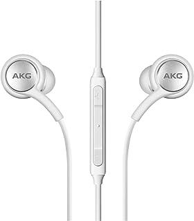 AKG - Auriculares estéreo para Samsung Galaxy S10 S10e S10 Plus, diseño de AKG, color blanco