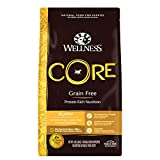 Wellness CORE Natural Grain Free Dry Dog Food, Puppy, 4-Pound Bag