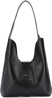 Hogan Luxury Fashion Donna KBW01BS0300J60B999 Nero Pelle Borsa A Spalla   Ss21