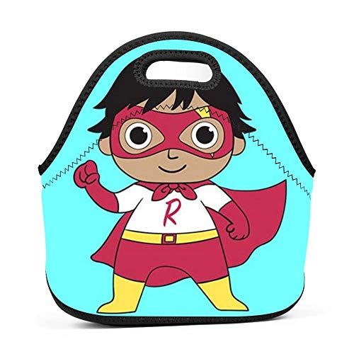Kids R_yan_Egg_Toys Handbag Lunch Bags Snack Bags Lunch Tote Lunchbox For School